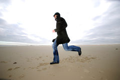 Running man Royalty Free Stock Photography