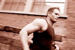Running man Stock Photos