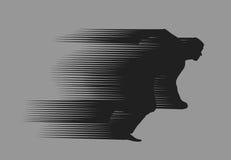 Running Man. Authors illustration in vector Vector Illustration
