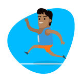 Running Man, Sports Icon Stock Photography