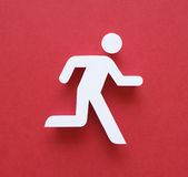 Running man Stock Images
