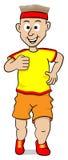 Running man Stock Image