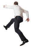 Running man on white Royalty Free Stock Photo