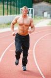 Running man Royalty Free Stock Photo