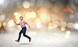 Running man Royalty Free Stock Photos