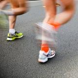 Running marathon Stock Photos