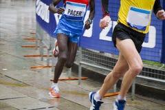 Running men Royalty Free Stock Photo