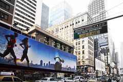 Running New York Stock Photography