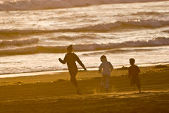 Free Running On The Beach Stock Photography - 2687262