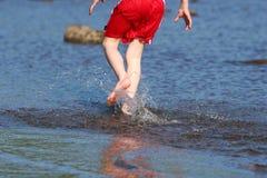 Running On Water Stock Photos