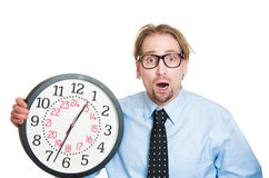 Running out of time Stock Image