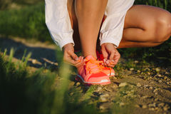 Running and outdoor sport concept Royalty Free Stock Photos