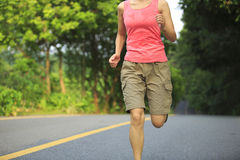 Running outdoor Royalty Free Stock Images