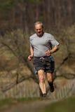 running pensionär Arkivfoton