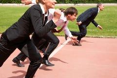 Running people Stock Image
