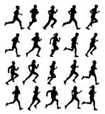 Running people Royalty Free Stock Photo
