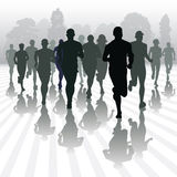 Running people Stock Images
