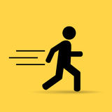 Running person Stock Image