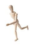 Running Puppet Stock Photo