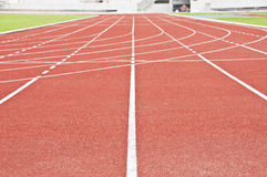 Running race track. Royalty Free Stock Photography