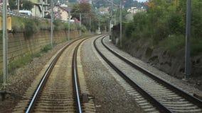 Running Railroad stock video footage