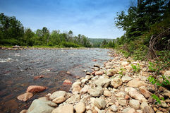 Running River. The Cascade River in northern Minnesota Royalty Free Stock Image