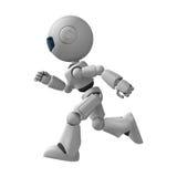 Running robot stock illustration