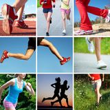Running and runner Stock Photography