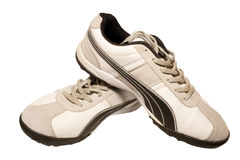 Running shoe. Sporting shoe of running shoe for going in for sports Royalty Free Stock Photo