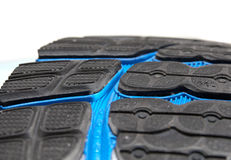 Running shoe: the outsole Royalty Free Stock Photo