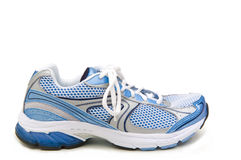 Running shoe profile Royalty Free Stock Photos
