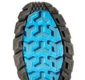 Running shoe sole isolated on white Royalty Free Stock Image