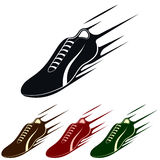 Running Shoe, Vector Illustration Stock Images