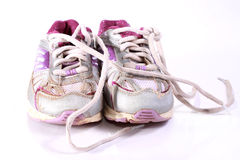Running shoes Royalty Free Stock Photos