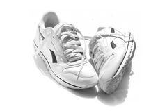 Running Shoes Royalty Free Stock Images