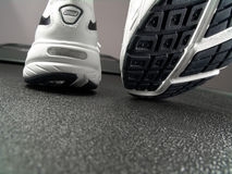 Running Shoes Closeup (Brand New) Stock Photos