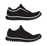 Running shoes icon Royalty Free Stock Photography