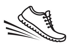 Running shoes icon Royalty Free Stock Photo