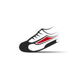 Running shoes icon Stock Photos