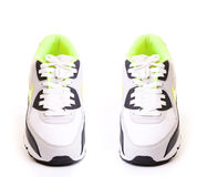 Running shoes  isolated on white background Royalty Free Stock Photos