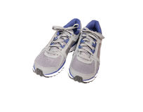 Running  shoes. Running shoes isolated on a white background Stock Photography