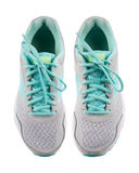 Running shoes, isolated on white background stock images