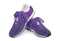 Running shoes isolated on white Royalty Free Stock Image