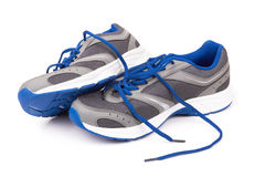 Running shoes stock photos