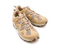 running skor för par Arkivbilder