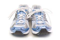 running skor för par Arkivfoto