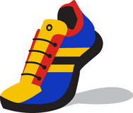 Running Sneakers Royalty Free Stock Images