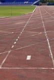 running spår Fotografering för Bildbyråer