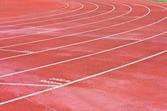 running spår arkivbilder