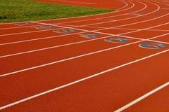 running spår för bakgrund Royaltyfri Fotografi